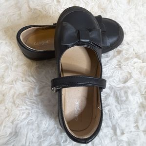 3/$30 Cat & Jack Kai Mary Jane black ballet flat